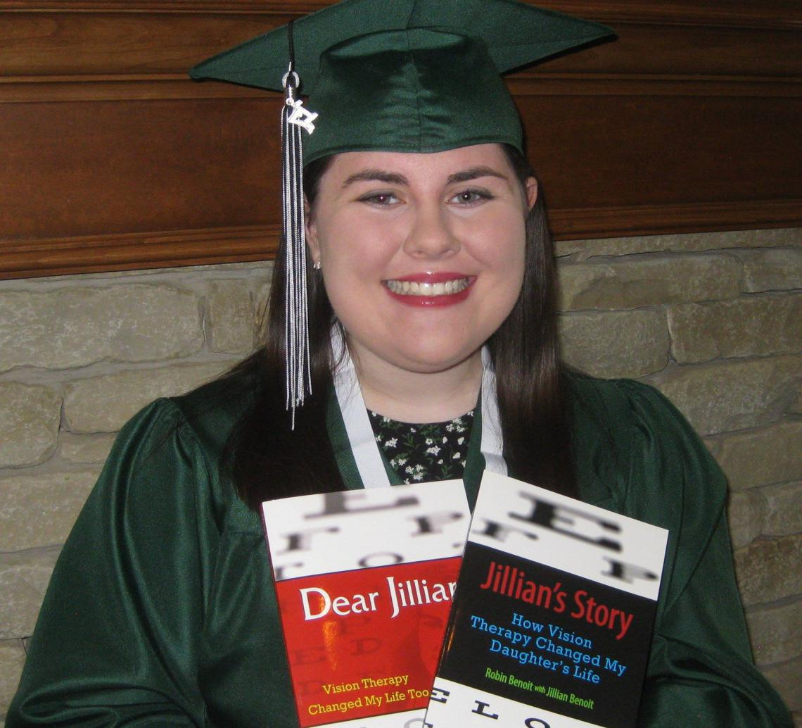 Jillian Benoit vision therapy success story blog post