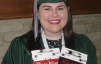 Jillian Graduate - vision therapy success story testimonial amblyopia high resolution